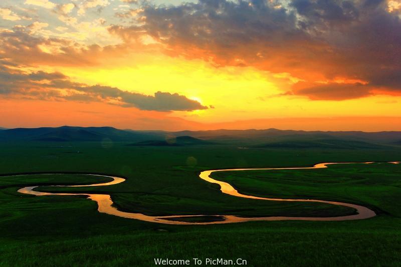 呼伦贝尔大草原,大河流、大森林、深度越野摄影创作团 - 宁静枫林 - 呼伦贝尔长城摄影旅游俱乐部