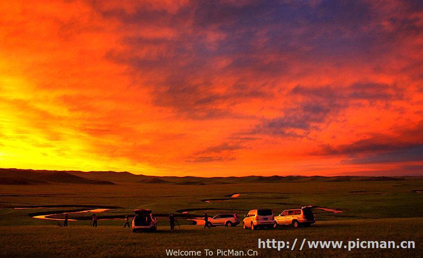 呼伦贝尔大草原越野摄影车队 - 宁静枫林 - 呼伦贝尔长城摄影旅游俱乐部