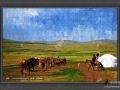 装饰油画《草原
